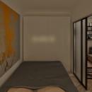 Спальня - ночь